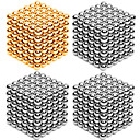 cheap Magnet Toys-216*4 pcs 3mm Magnet Toy Magnetic Balls / Building Blocks / Puzzle Cube Metalic Contemporary / Classic & Timeless / Chic & Modern Stress and Anxiety Relief / Office Desk Toys / Relieves ADD, ADHD