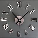 رخيصةأون اصنع بنفسك ساعة الحائط-أخرى كاجوال الحديثة / المعاصرة تقليدي زهري رجعي مكتب/الأعمال PVC مستطيل دائري في الأماكن المغلقة /في الهواء الطلق داخلي,AAA
