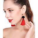 cheap Rings-Women's Drop Earrings / Hoop Earrings - Tower Colorful Yellow / Red / Light Blue For Party / New Year