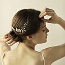 preiswerte Parykopfbedeckungen-Künstliche Perle / Strass Haarkämme / Blumen / Haar-Stock mit 1 Hochzeit / Jahrestag / Geburtstag Kopfschmuck