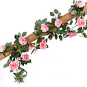 cheap Artificial Flower-Artificial Flowers 1 Branch Wedding / Pastoral Style Roses Tabletop Flower