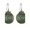 cheap Earrings-Women's Drop Earrings - Punk, Simple Style Bronze / Light Green For Party / Beach