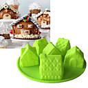 olcso Sütőeszközök-Bakeware eszközök Szilikon Sütés eszköz / 3D / Kreatív Konyha Gadget Mindennapokra / Kenyér / Torta 3D süteményformákba 1db