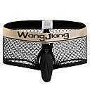 baratos Moda Íntima Exótica para Homens-Homens Boxer Curto Estampa Colorida 1 Peça Cintura Média