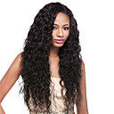 cheap Human Hair Wigs-Human Hair Lace Front Wig / Glueless Lace Front Wig Brazilian Hair Water Wave 130% Density With Baby Hair / Natural Hairline / 100% Hand Tied Women's Short / Medium Length / Long Human Hair Lace Wig