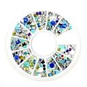 levne Nail Glitter-Nehtové šperky Glittery / Módní Denní Design nehtů