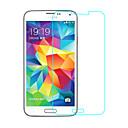 זול מגנים לטלפון & מגני מסך-מגן מסך ל Samsung Galaxy S5 זכוכית מחוסמת יחידה 1 מגן מסך קדמי (HD) ניגודיות גבוהה / קשיחות 9H / קצה מעוגל 2.5D
