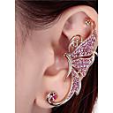 cheap Earrings-Women's Stud Earrings / Clip Earrings - Rhinestone Animal Personalized, Fashion Silver / Pink For Casual / Street