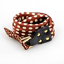 cheap Bracelets-Women's Leather Bracelet - Leather Floral / Botanicals, Flower Bracelet Brown / Blue / Pink For Party / Evening Party