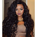 cheap Human Hair Wigs-Human Hair Lace Front Wig Brazilian Hair Wavy Wig Layered Haircut / With Baby Hair 130% Natural Hairline / For Black Women / 100% Virgin Women's Short / Medium Length / Long Human Hair Lace Wig