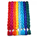cheap Hair Braids-Braiding Hair Crochet Jumbo Synthetic Hair 1pc / pack Hair Braids Long 100% kanekalon hair