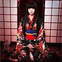 ieftine Ventilatoare și Parasolare-Inspirat de Hell Girl Ai Enma Anime Costume Cosplay Costume Cosplay lolita Guler Fundă Eșarfă/Panglică Kimono Coat Pentru Pentru femei