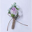 preiswerte Hochzeitsblumen-Hochzeitsblumen Knopflochblumen Hochzeit Polyester 3.94 Zoll