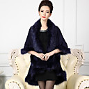 cheap Seat Posts & Saddles-Faux Fur Wedding Party / Evening Women's Wrap Capes