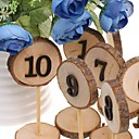 cheap Place Cards & Holders-Wooden Ornaments Standing Style 10