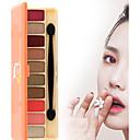 baratos Sombras-10 cores Sombra para Olhos Sem Álcool Prova-de-Água Maquiagem para o Dia A Dia / Maquiagem para Dias das Bruxas / Maquiagem de Festa Diário Maquiagem Cosmético / Mate / Brilho