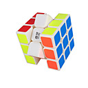 cheap Rubik's Cubes-Rubik's Cube QIYI 3*3*3 Smooth Speed Cube Magic Cube Educational Toy Stress Reliever Puzzle Cube Smooth Sticker Competition Gift Unisex