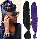 cheap Hair Braids-Crochet 100% kanekalon hair 3 Pieces Jumbo Hair Braids Long