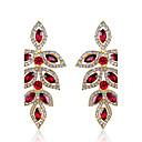 cheap Earrings-Women's Drop Earrings - Drop Purple / Red For Wedding / Party