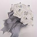 """olcso Esküvői virágok-Esküvői virágok Csokrok Esküvő Poliészter / Hab 9,84"""" (Kb. 25 cm)"""