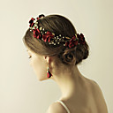 cheap Eyeshadows-Fabric Flowers / Head Chain with 1 Wedding / Party / Evening Headpiece