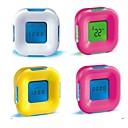 tanie Zegary ścienne-budzik cyfrowy plastikowy led z lampką nocną losowy kolor światła