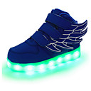 cheap Girls' Shoes-Boys' Shoes Leather Spring / Fall Comfort / Novelty / Light Up Shoes Sneakers Magic Tape / LED for Red / Green / Blue