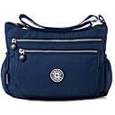 cheap Totes-Women's Bags Polyester Crossbody Bag Zipper Dark Blue / Fuchsia / Light Purple
