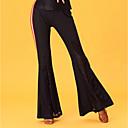 preiswerte Kleidung für Lateinamerikanischen Tanz-Latein-Tanz Unten Damen Leistung Eis-Seide Spitze Hoch Hosen