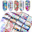 baratos Papel Alumínio para Unhas-16 pcs Other Fashion Diário