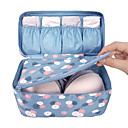 cheap Travel Bags & Hand Luggage-Textile Plastic Oval Novelty Multi-functional Home Organization, One-piece Suit Storage Bags