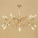 cheap Chandeliers-Pendant Light Ambient Light Electroplated Metal Mini Style, Adjustable, Designers 110-120V / 220-240V Bulb Not Included / E26 / E27