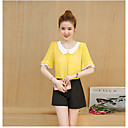 cheap Ceiling Lights-Women's Casual Blouse - Solid Colored