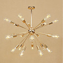 cheap Chandeliers-Sputnik Chandelier Ambient Light Electroplated Metal Mini Style, Adjustable 110-120V / 220-240V Bulb Not Included / E26 / E27