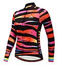 זול בגדי ריצה-Miloto בגדי ריקוד נשים שרוול ארוך חולצת ג'רסי לרכיבה - הסוואה אופניים ג'רזי