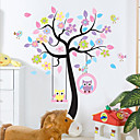 cheap Wall Stickers-Animals Fashion Botanical Wall Stickers Plane Wall Stickers Decorative Wall Stickers, Plastic Home Decoration Wall Decal Wall