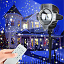 cheap Tents, Canopies & Shelters-KWB 1set LED Floodlight Dimmable Waterproof Decorative Remote-Controlled Holiday New Year's Christmas Thanksgiving Halloween Outdoor
