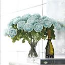 olcso Művirág-2 Ág Poliészter Camellia Asztali virág Művirágok