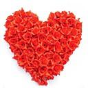 abordables Flores Artificiales-Flores Artificiales 50 Rama Moderno / Contemporáneo Rosas Flor de Mesa