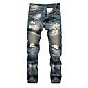 abordables Soportes y Monturas para Coche-Hombre Tallas Grandes Vaqueros Pantalones - Un Color