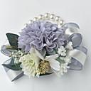 """رخيصةأون زهور اصطناعية-زهور الزفاف باقة ورد في رسغ زفاف البوليستر 3.94""""(Approx.10cm)"""