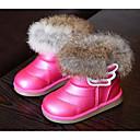 olcso Férfi sportcipők-Lány Cipő Bőrutánzat Tél Kényelmes / Hócipők Csizmák mert Fehér / Fukszia / Rózsaszín
