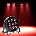 tanie Oświetlenie sceniczne-U'King Oświetlenie LED sceniczne / Żarówki LED Par DMX 512 / Master-Slave / Aktywowana Dźwiękiem 120 W na Obuwie turystyczne / Impreza / Scena Profesjonalny / a