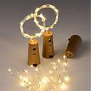 ieftine Ustensile de Ornare-0.7m Fâșii de Iluminat 15 LED-uri Alb Cald Rezistent la apă <5 V 3pcs / IP65