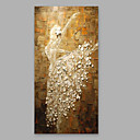 cheap Framed Arts-Oil Painting Hand Painted - People Modern Canvas