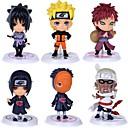 billige Anime actionfigurer-Anime Action Figurer Inspirert av Naruto Itachi Uchiha PVC CM Modell Leker Dukke