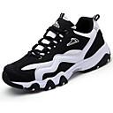 baratos Sapatos Esportivos Femininos-Mulheres Sapatos Couro Ecológico Primavera / Outono Conforto Tênis Azul Escuro / Cinzento / Azul Marinho