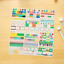 preiswerte Schreiben-6 teile / satz pvc tagebuch aufkleber telefon aufkleber sammelalbum aufkleber