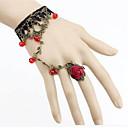 preiswerte Modische Armbänder-Damen Kristall Ring-Armbänder - Krystall Blume damas, Rockig, Elegant Armbänder Schmuck Violett / Rot Für Party Bühne