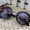 זול ילדים משקפיים-משקפיים אביב, סתיו, חורף, קיץ מתכת יוניסקס - שחור